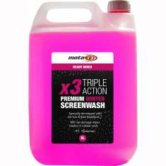 Mota 1 Winter Screen Wash x 3 Triple Action Car Van AMP005 - 5 Litres