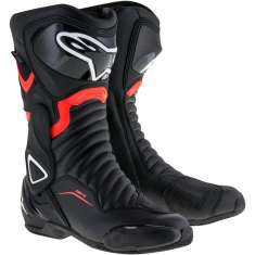 Alpinestars SMX-6 Boots V2 Drystar WP - Black Red