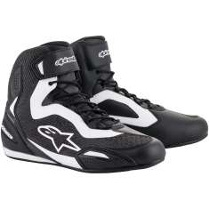 Alpinestars Faster-3 Rideknit Shoes - Black White