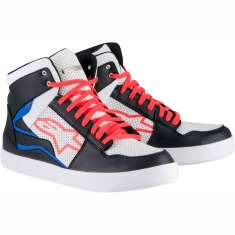 Alpinestars Stadium Shoes CE - White Black Blue