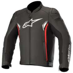 Alpinestars SP-1 V2 Leather Jacket - Black Red