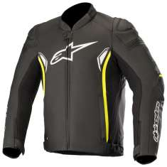 Alpinestars SP-1 V2 Leather Jacket - Black Yellow