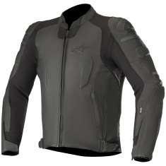 Alpinestars Specter Leather Jacket Airbag Compatible - Black