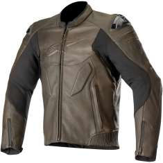Alpinestars Caliber Leather Jacket - Brown