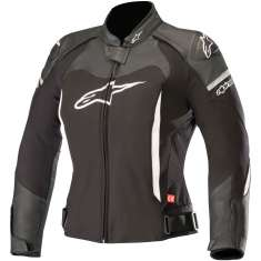 Alpinestars Stella SPX Leather Jacket - Black White