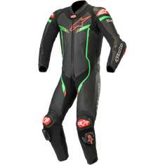 Alpinestars GP Pro V3 Airbag Compatible Suit 1PC - Black Green