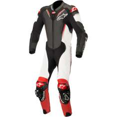Alpinestars Atem Leather Suit V3 - Black White Red