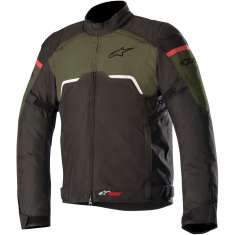 Alpinestars Hyper Drystar Jacket WP - Black Green