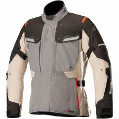 Alpinestars Bogota Drystar 3L Jacket V2 WP - Grey Brown Black