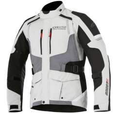 Alpinestars Andes Drystar Jacket V2 WP - White Black Grey