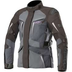 Alpinestars Stella Yaguara Drystar Jacket Airbag Compatible WP - Black Anthracite Grey
