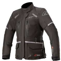 Alpinestars Stella Andes V3 Jacket Drystar WP - Black Dark Gray