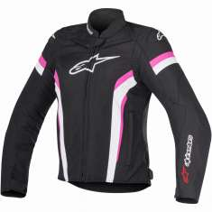 Alpinestars Stella T-GP Plus R Jacket Ladies V2 Air - Black White Pink