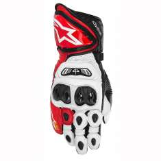 Alpinestars GP Tech Gloves - White Red Black