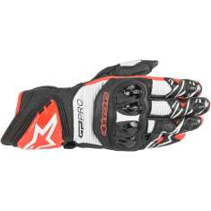 Alpinestars GP Pro R3 Gloves - Black White Red