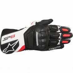 Alpinestars SP-8 Gloves V2 - Black White Red