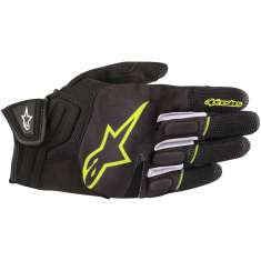 Alpinestars Atom Gloves - Black Yellow