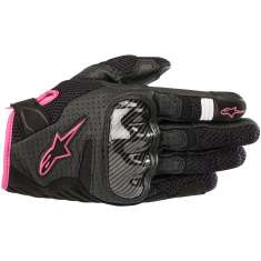 Alpinestars Stella SMX-1 Gloves V2 Air - Black Pink