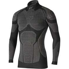 Alpinestars Ride Tech LS Winter Top - Black Grey