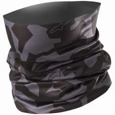 Alpinestars Camo Neck Tube - Black Anthracite