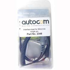 Autocom Motorola Radio Lead - Single pin
