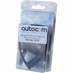Autocom Motorola Radio Lead - Twin pin