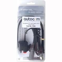 Autocom Push To Talk Switch - Black