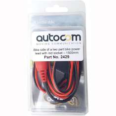 Autocom Bike Power Lead - Bike Side