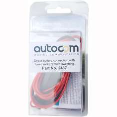 Autocom Direct Battery Connection Lead - Black