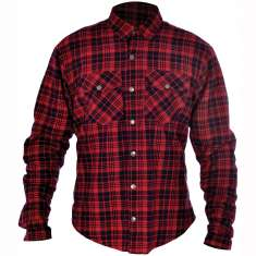 Oxford Kickback Aramid Shirt - Red Black