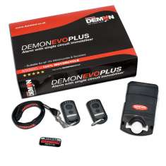 Datatool Demon Evo Plus Alarm Immobiliser - Black Red