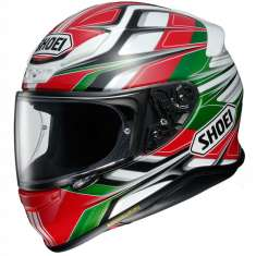 Shoei NXR Rumpus TC4 Helmet - Red White Green