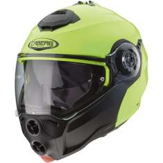 Caberg Droid Hi-Viz Helmet - Yellow Black