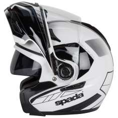 Spada Reveal Tracker Helmet - White Black
