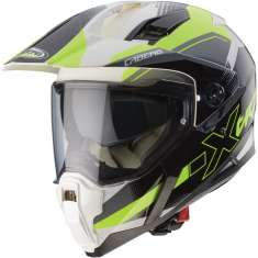 Caberg X-Trace Spark Helmet - Black White Yellow