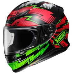 Shoei NXR Variable TC-4 Helmet - Black Red Green