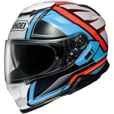 Shoei GT-Air 2 Haste TC-2 Helmet - Blue Orange