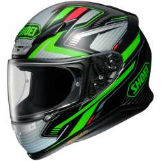 Shoei NXR Stable TC-4 Helmet - Black Green Silver