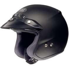 Shoei RJ Platinium-R Helmet - Matt Black