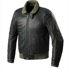 Spidi Tank Leather Jacket - Black
