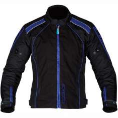 Spada Plaza Blouson Jacket WP - Black Blue