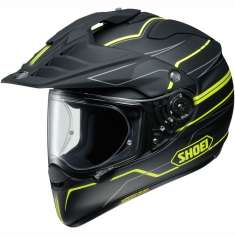 Shoei Hornet ADV Helmet Navigate TC-3 - Black Yellow