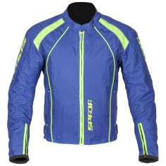 Spada Plaza Blouson Jacket WP - Blue Yellow