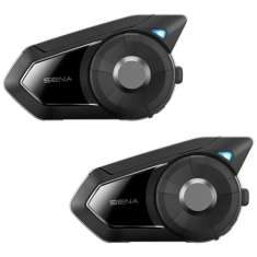 Sena 30K Bluetooth Headset + Intercom - Dual - Black