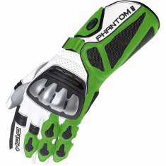 Held Phantom II Gloves - White Green Black