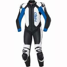 Held 5012 Slade 1 Piece Leather Suit - Black Blue