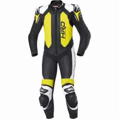 Held 5012 Slade 1 Piece Leather Suit - Black Fluorescent