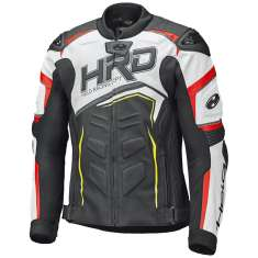 Held 51933 Safer II Leather Jacket - Black White Red