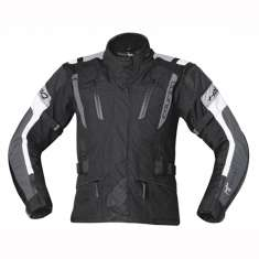 Held 6023 4-Touring Jacket Ladies WP - Black Grey