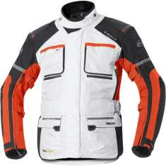 Held 6450 Carese II Jacket Mens GTX - White Orange Black